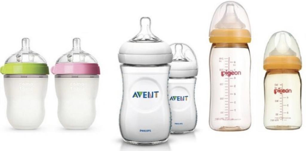 Bình sữa cho bé sơ sinh