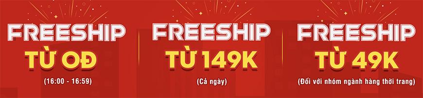 freeship Sendo