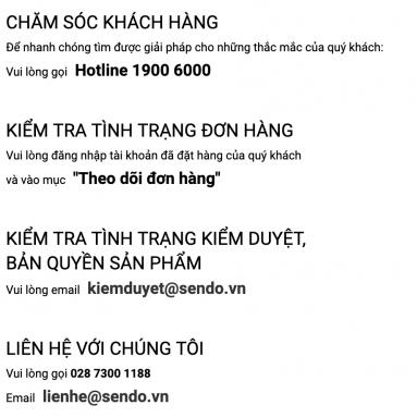 Tổng đài Sendo – Số điện thoại Hotline – Trung tâm CSKH 24/7