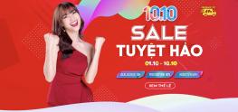 Sendo 10.10 Sale Tuyệt Hảo – Hoàn Tiền 50%, FreeShip Mọi Đơn Hàng