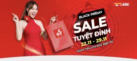 Black Friday Sale Tuyệt Đỉnh Trên Sendo – Deal Đỉnh, Hoàn Tiền Triệu